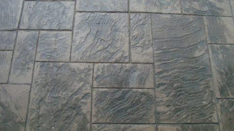 Имитация плитки из натурального камня