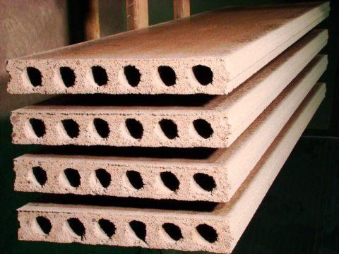 Керамзитобетонные плиты
