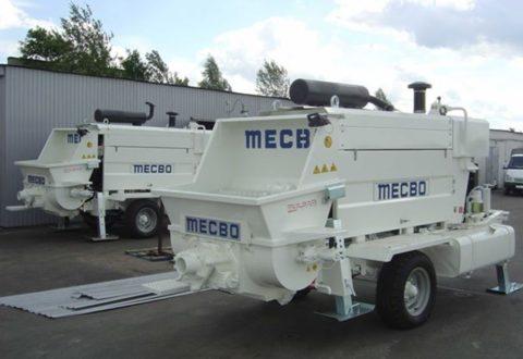 Насос бетонный стационарный MECBO