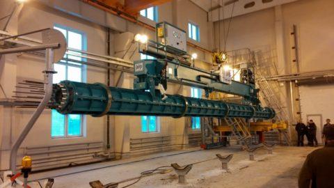 Оборудование, на котором производится высоковольтная бетонная опора