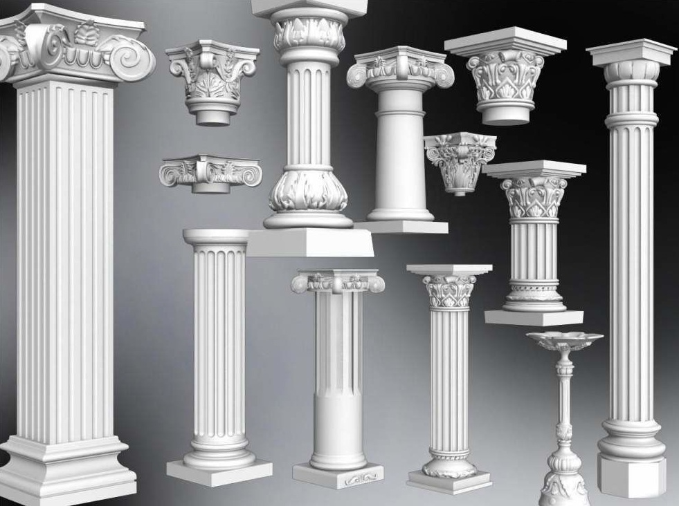 Где купить колонны из бетона что лучше дом из газобетона или керамзитобетона