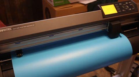 Распечатка трафарета на специальном принтере
