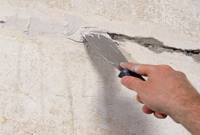 стены ремонт швов