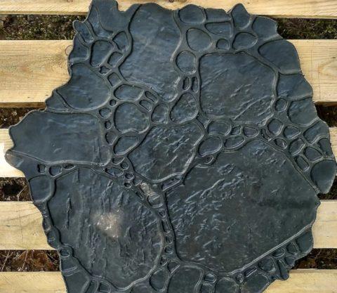 Штамп для имитации природного камня