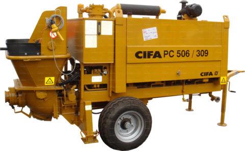 Стационарный бетононасос CIFA