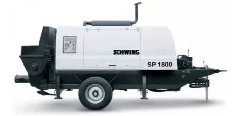 Стационарный бетононасос sp 1800