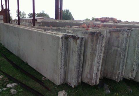 Стеновые панели наружные из керамзитобетона
