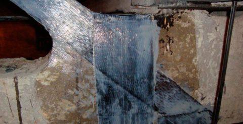 Трещины в железобетонных стропильных фермах и способ их заделки