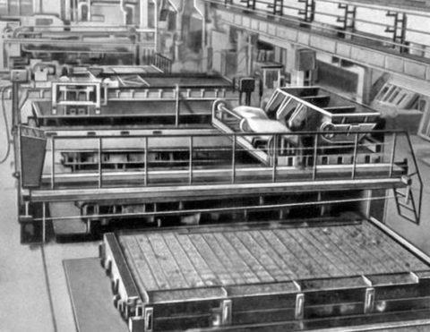 Цех по производству панелей