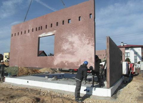 Возведение зданий с использованием панелей из керамзитобетона
