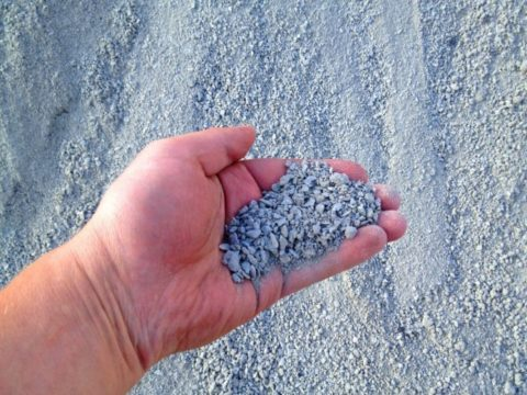 Дробленый песок
