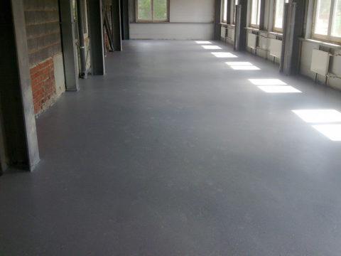 Идеальная железненная бетонная поверхность пола