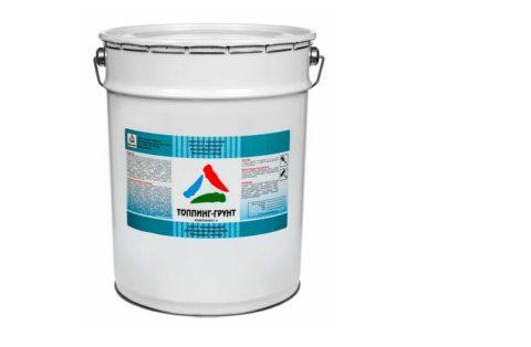 Один из компонентов топпинговой системы для бетонного пола