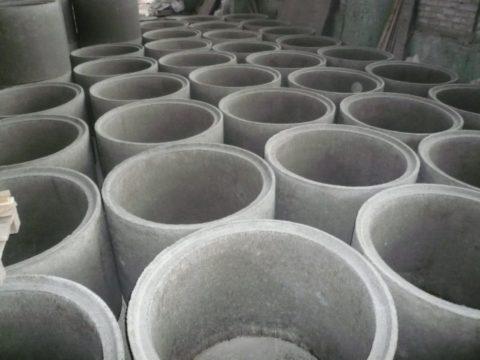 Стеновые кольца железобетонные для колодца