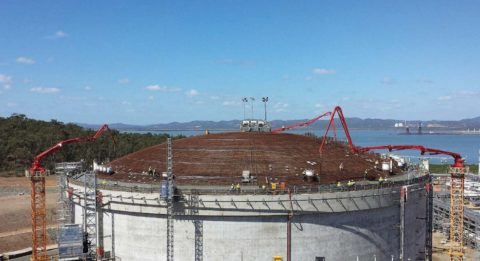 Стрелы для подачи бетона на строительстве энергетических объектов