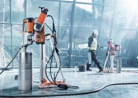 Сверлильная машина для бетона