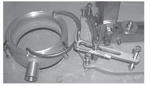 Закрепленное водосборное кольцо