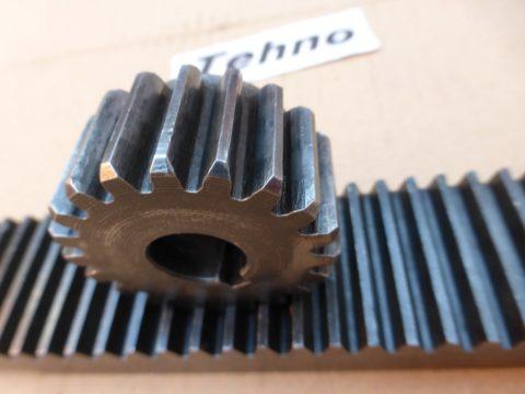 Зубчатую рейку с шестерней можно приобрести или подобрать