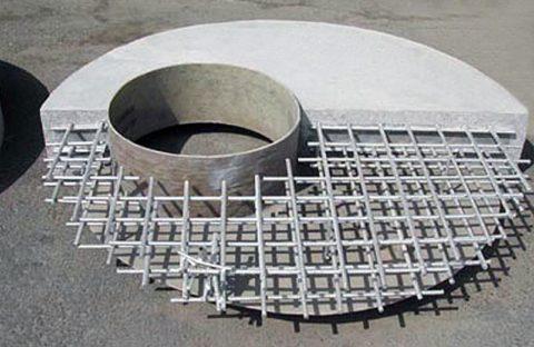 Арматурный каркас плиты перекрытия