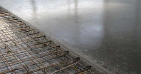 Армирование бетонных плит – мероприятие необходимое для улучшения качества бетона