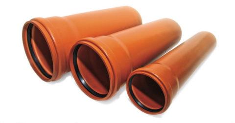 Наружные канализационные трубы из ПВХ