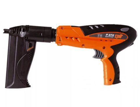 Пистолет для забивания дюбелей в бетон пороховой