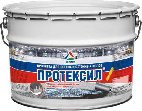 «Протексил» - укрепитель бетонных полов