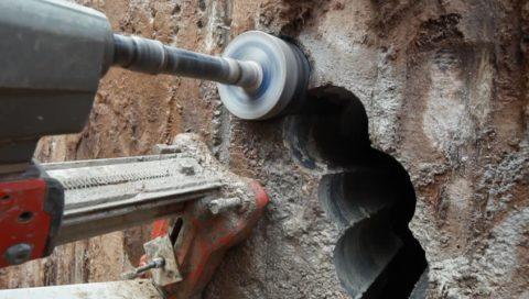 Резка бетона – не только технологична, но еще и завораживающе красива