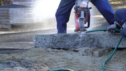 Резка бетонного монолита