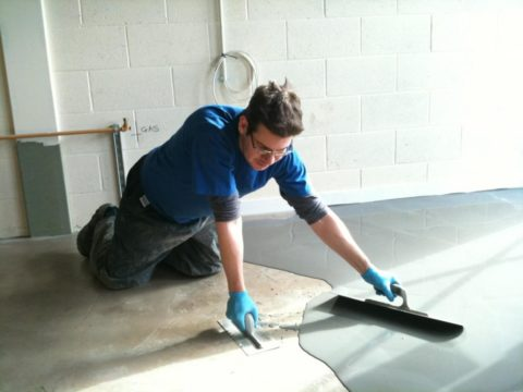 Самовыравнивающийся бетон под ламинат