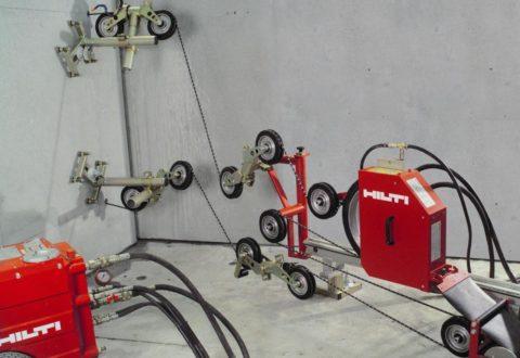 Система для канатной резки бетона