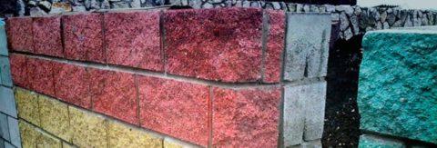 Строительство стены в два блока