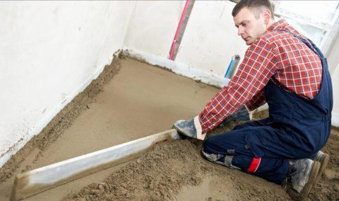 Сухая стяжка как вариант выравнивания бетонного пола