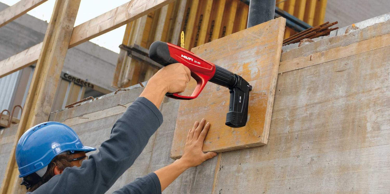 Купить строительный пневмопистолет для гвоздей по бетону бетон и цементные растворы