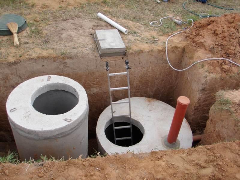 Канализация бетон w2 в бетоне