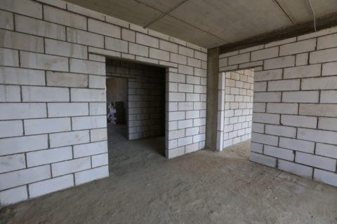 Внутренние перегородки из газобетонных блоков