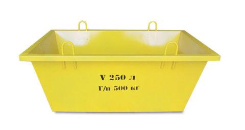 Ящик для бетона