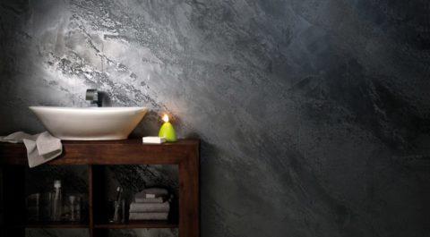 Бетонная отделка стен – стильно, но слишком «остро»