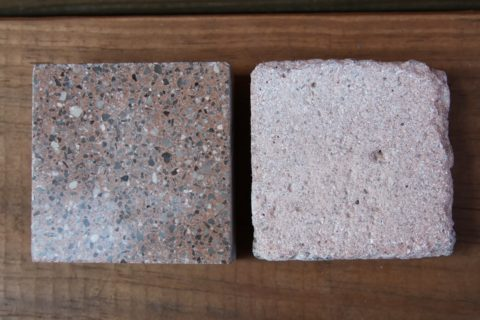 Бетонные образцы с бетоноконтактом и без после проведения лабораторных испытаний. Результат «на лицо»
