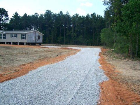 Бетонный бой – хороший способ реставрации дорог к отдаленным строительным участкам