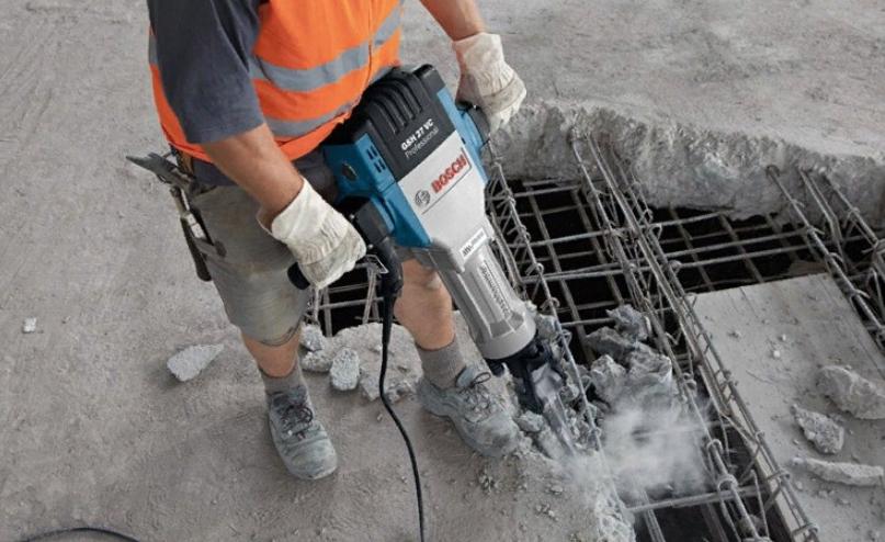 Отбивка бетона виды прочностей бетона
