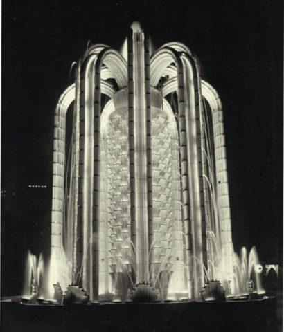 Фонтан Кактус на Колониальной выставке