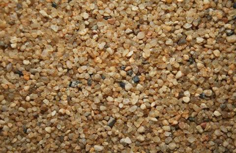 Крупнозернистый кварцевый песок