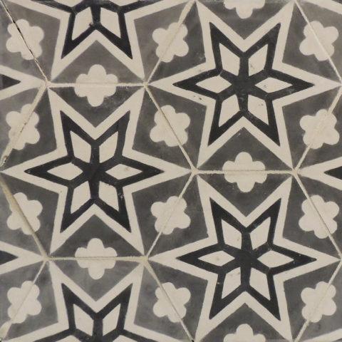 Многообразие оттенков бетона в одном стилистическом исполнении плитки