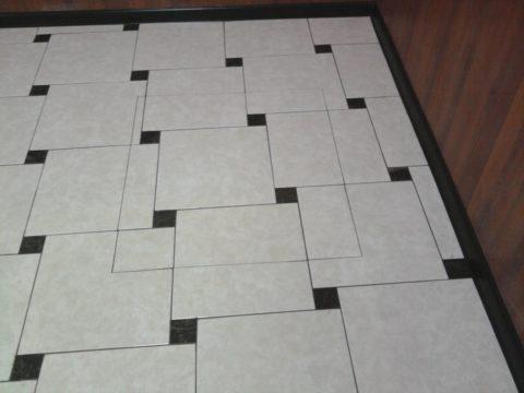 От раскладки плитки зависит итоговый внешний вид