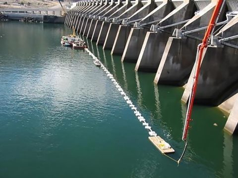 Установка для производства подводных работ пример
