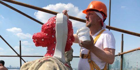 Важный этап реставрационных работ – снятие силиконовых форм