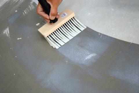 Любая бетонная поверхность нуждается в пропитке