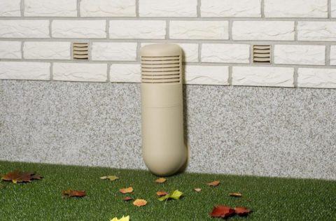 Современные системы принудительной вентиляции выглядят весьма эстетично