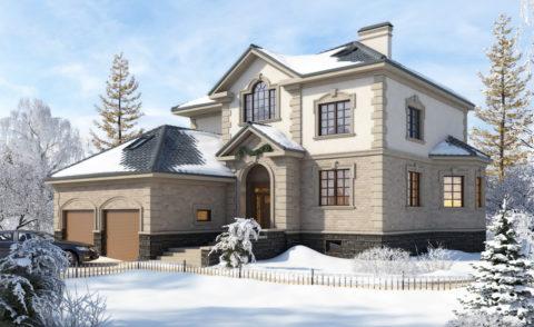 Цоколь не только увеличивает полезную площадь строения, но и делает внешний вид дома более презентабельным